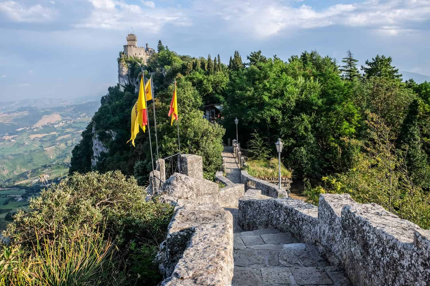 Passage of the Witches in San Marino, Italy, Emilia Romagna
