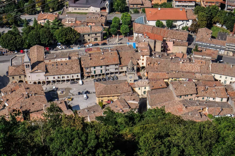Borgo Maggiore, San Marino, Emilia Romagna, Italy