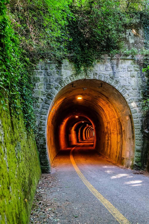 Railway tunnels of San Marino, Italy, Emilia Romagna