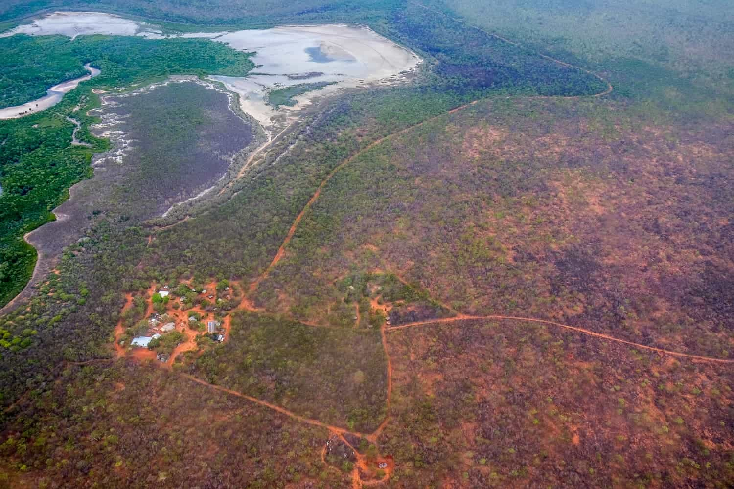 Aboriginal communities in Kimberly Outback of Western Australia