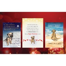 Border Terrier Christmas Cards Mixed Pack