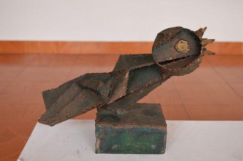 Carlos Cruz Aceros, 20 de años de trayectoria como escultor