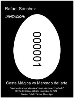 Rafael Sánchez – Cesta mágica vs Mercado del Arte (Reseña Crítica)