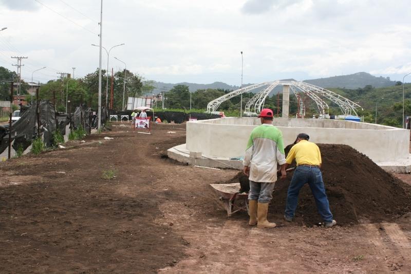Redoma del Estudiante, San Cristóbal, Táchira, Venezuela.