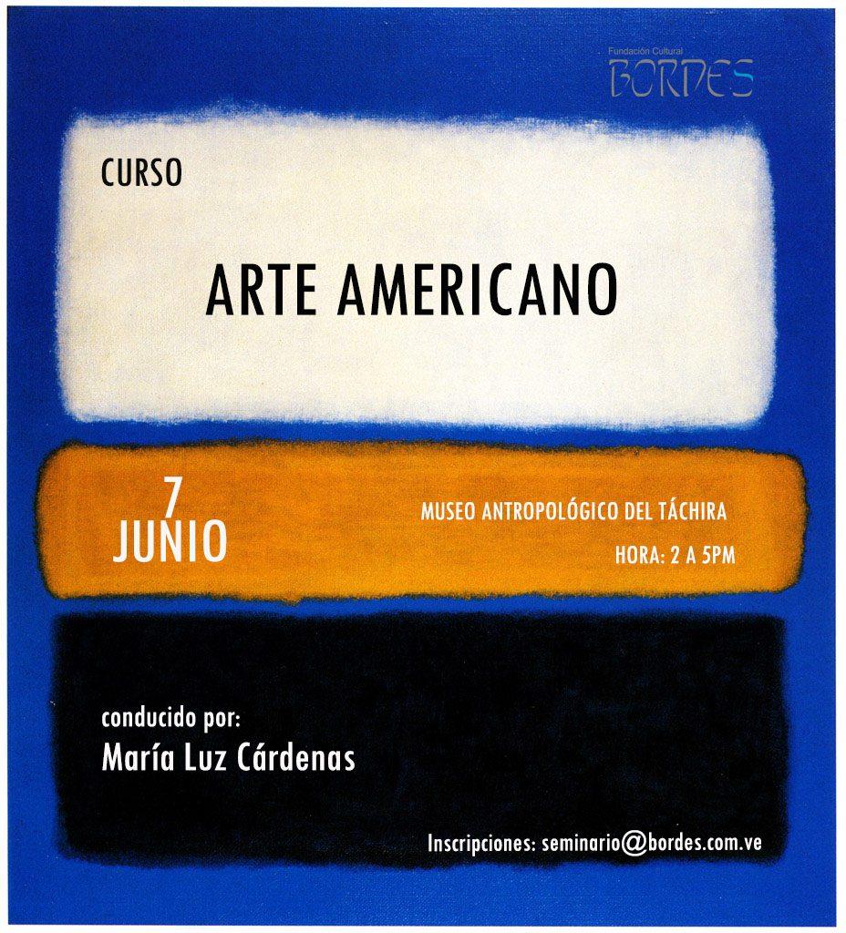CARTEL MARIA LUZ ARTE AMERICANO
