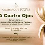 Coloquio literario en Bordes Galería Café