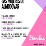 Cineforo: en marzo ciclo Las mujeres de Almodóvar