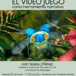 Conferencia virtual sobre videojuegos y cine