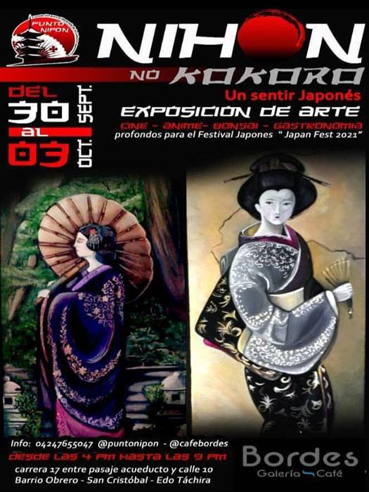 Táchira tiene 'Un sentir japonés':  Exposición de arte y cultura