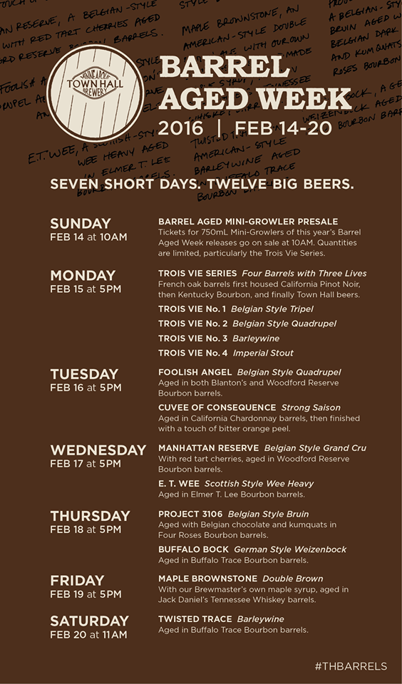 2015 THB Barrel Aged Week