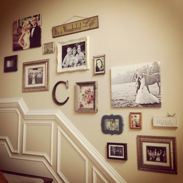 40 Must Try Stair Wall Decoration Ideas Must Try Stair Wall Decoration Ideas  40