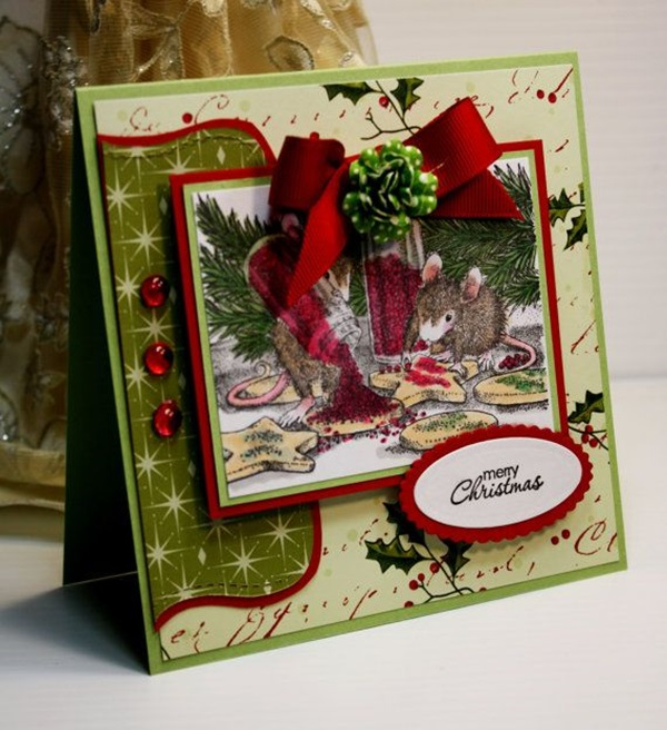 If you love making cards and would like to take your card making one step further, perhaps. 40 Handmade Greeting Card Designs