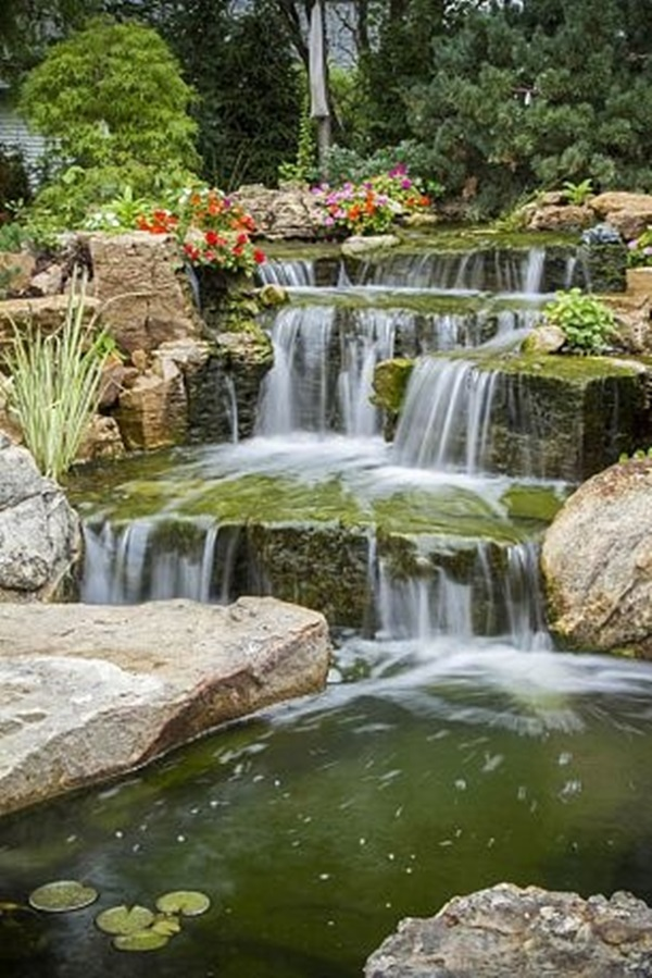 30 Elegant Backyard Pond Ideas on Yard Ponds Ideas id=24034