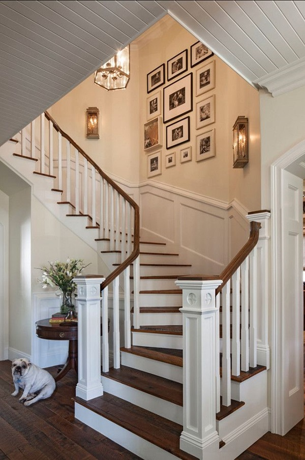 40 Must Try Stair Wall Decoration Ideas on Creative Staircase Wall Decorating Ideas  id=29840