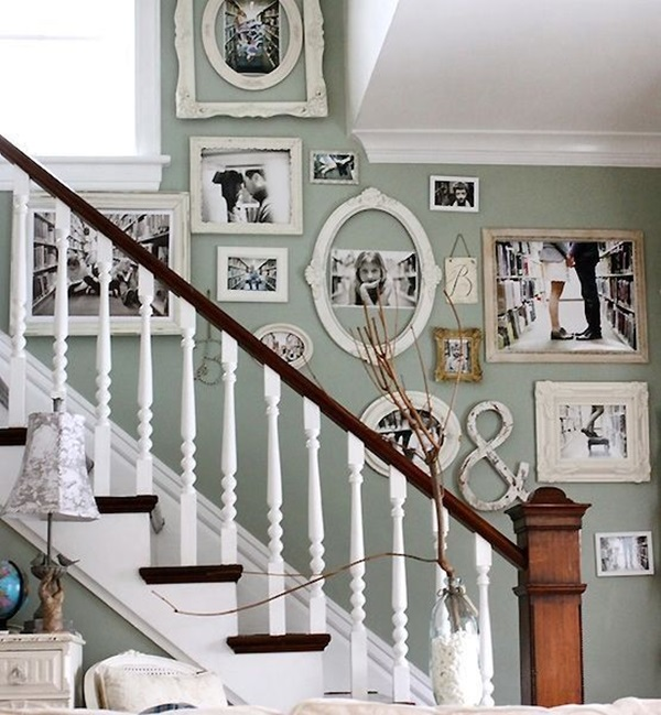 40 Must Try Stair Wall Decoration Ideas on Creative Staircase Wall Decorating Ideas  id=65448