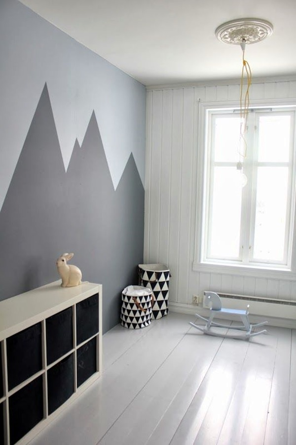 40 Elegant Wall Painting Ideas For Your Beloved Home ... on Painting Ideas For House  id=75986