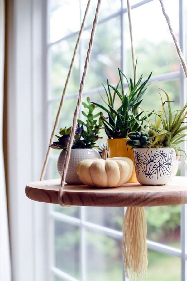 40 Elegant DIY Hanging Planter Ideas For Indoors - Bored Art on Hanging Plant Stand Ideas  id=30643