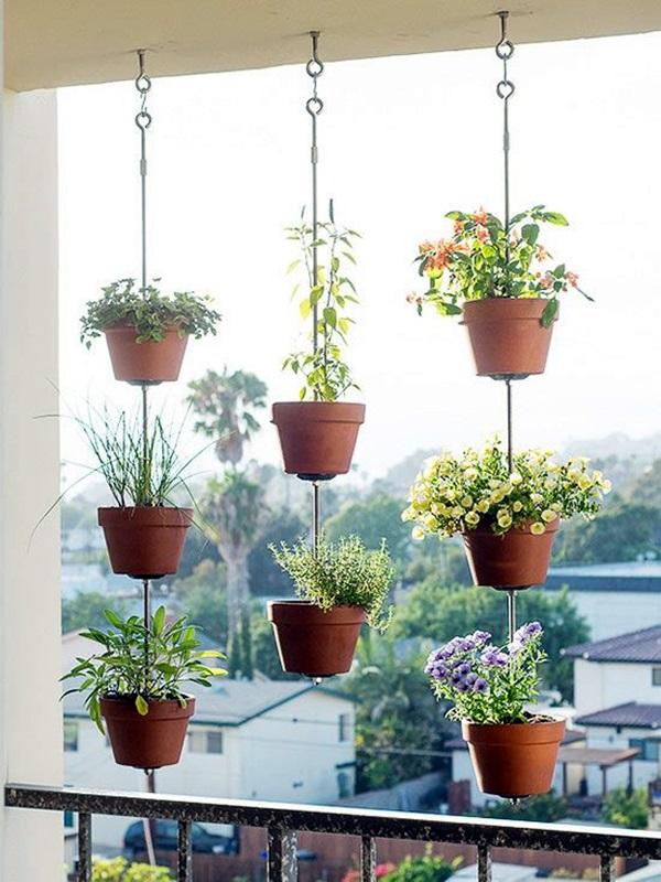 40 Elegant DIY Hanging Planter Ideas For Indoors - Bored Art on Hanging Plant Pots Indoor  id=71241