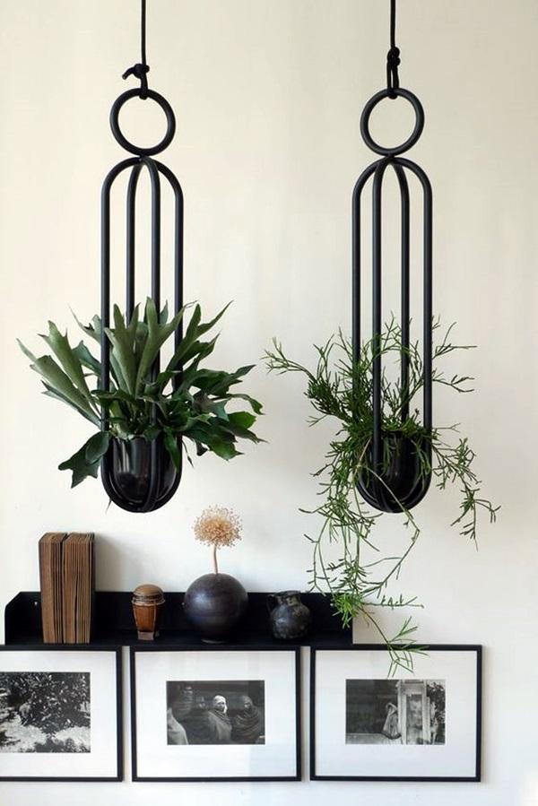40 Elegant DIY Hanging Planter Ideas For Indoors - Bored Art on Hanging Plant Pots Indoor  id=27429