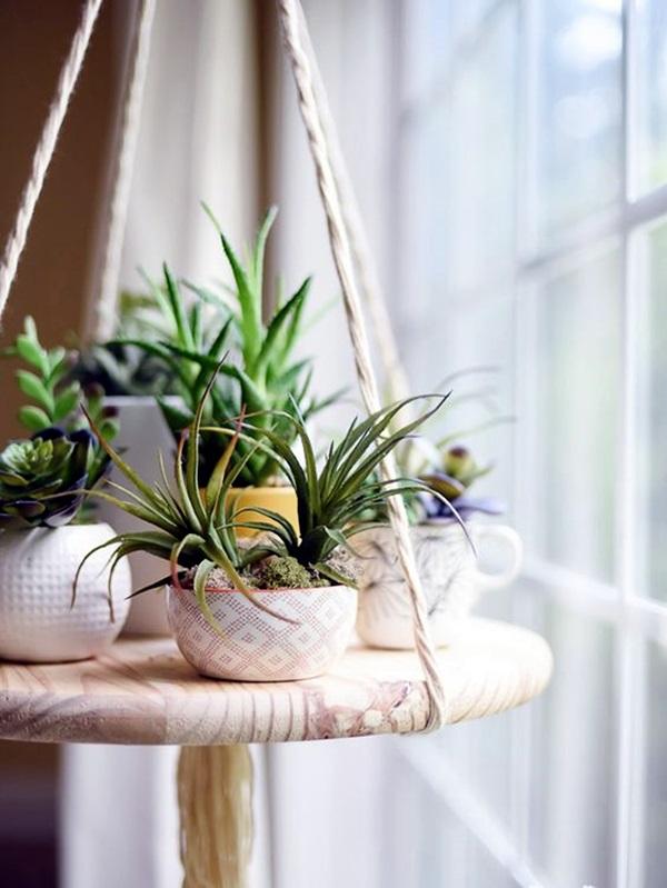40 Elegant DIY Hanging Planter Ideas For Indoors - Bored Art on Hanging Plant Pots Indoor  id=42940