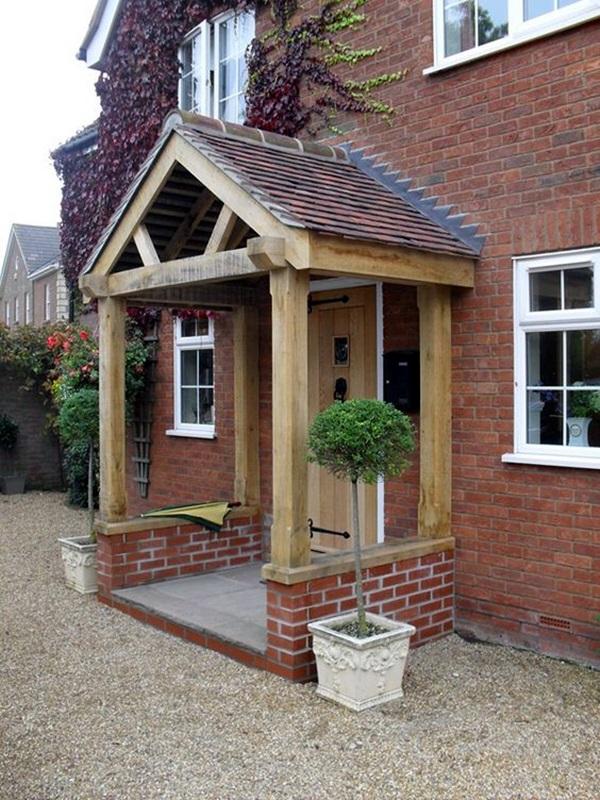 40 Lovely Door Overhang Designs - Bored Art on Backyard Overhang Ideas id=93820