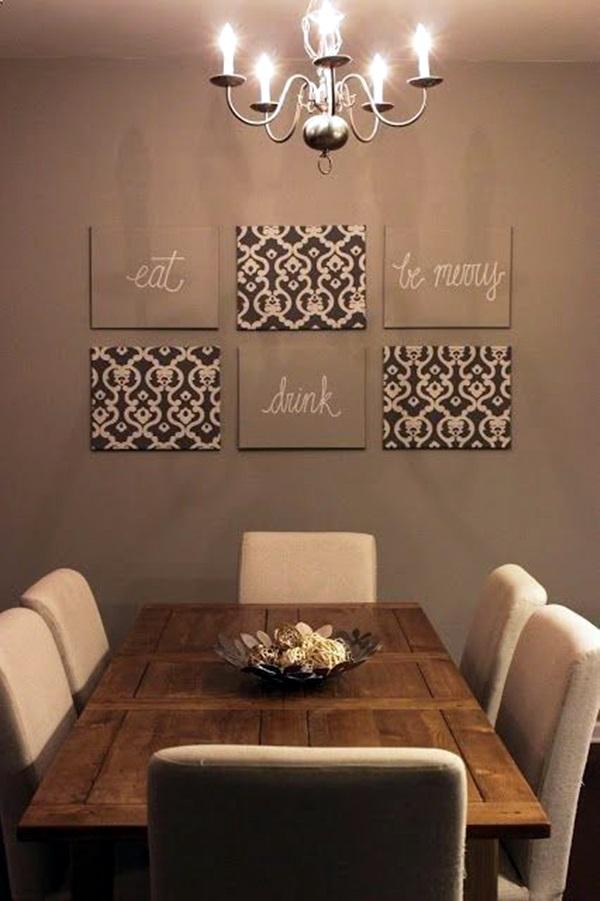 40 Ridiculously Artistic Fabric Wall Art Ideas on Wall Decor Ideas  id=75326