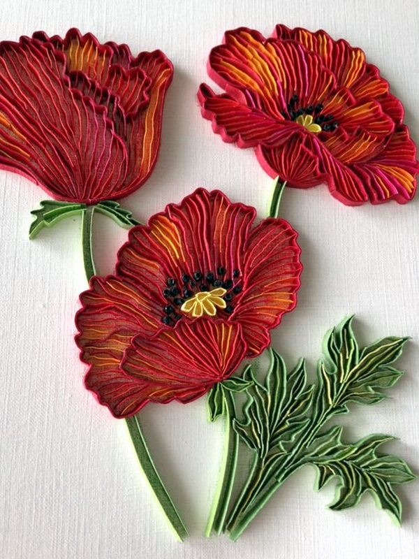 40 Creative Paper Quilling Designs And Artworks