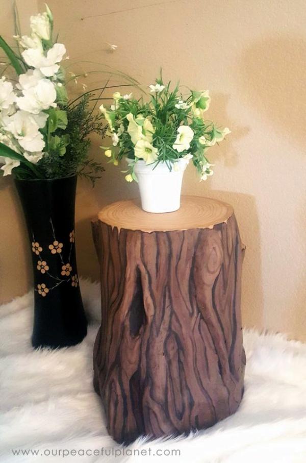 40 Smart Ass Tree Stump Decoration Ideas