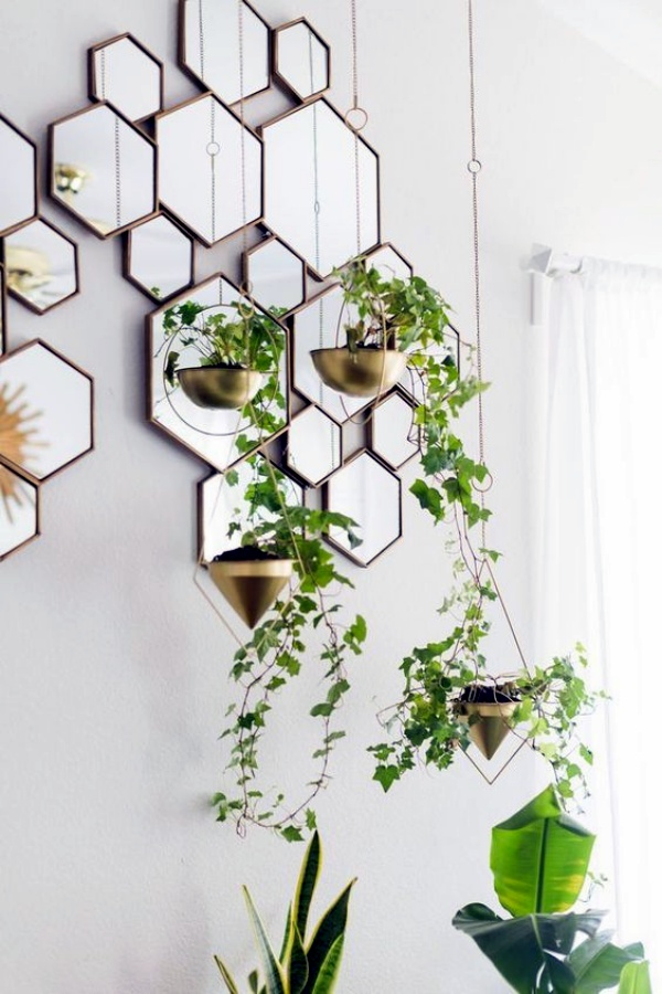 40 So Perfect Wall Hanging Plant Decor Ideas on Hanging Plant Ideas  id=43743