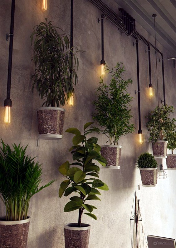 40 So Perfect Wall Hanging Plant Decor Ideas on Wall Sconces For Greenery Decoration id=88585