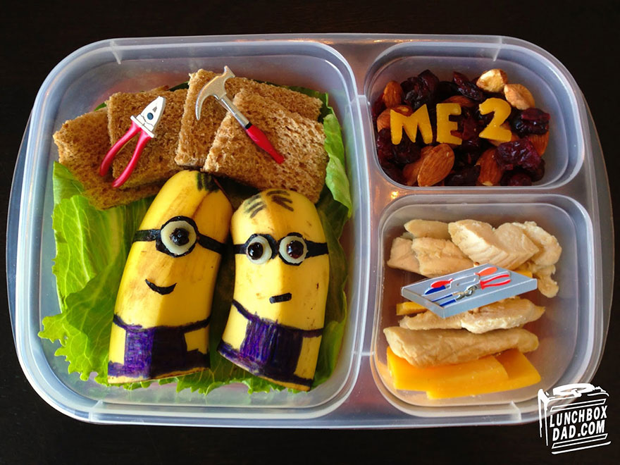 The Lunchbox Dad: the Daddy who turns Sandwiches Into Masterpieces