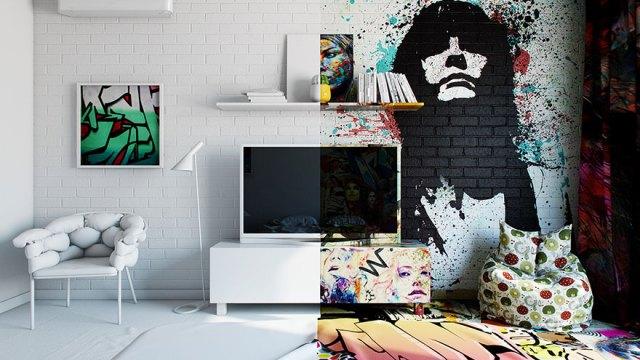 habitacion-hotel-dividida-mitad-blanco-graffiti-pavel-vetrov (2)