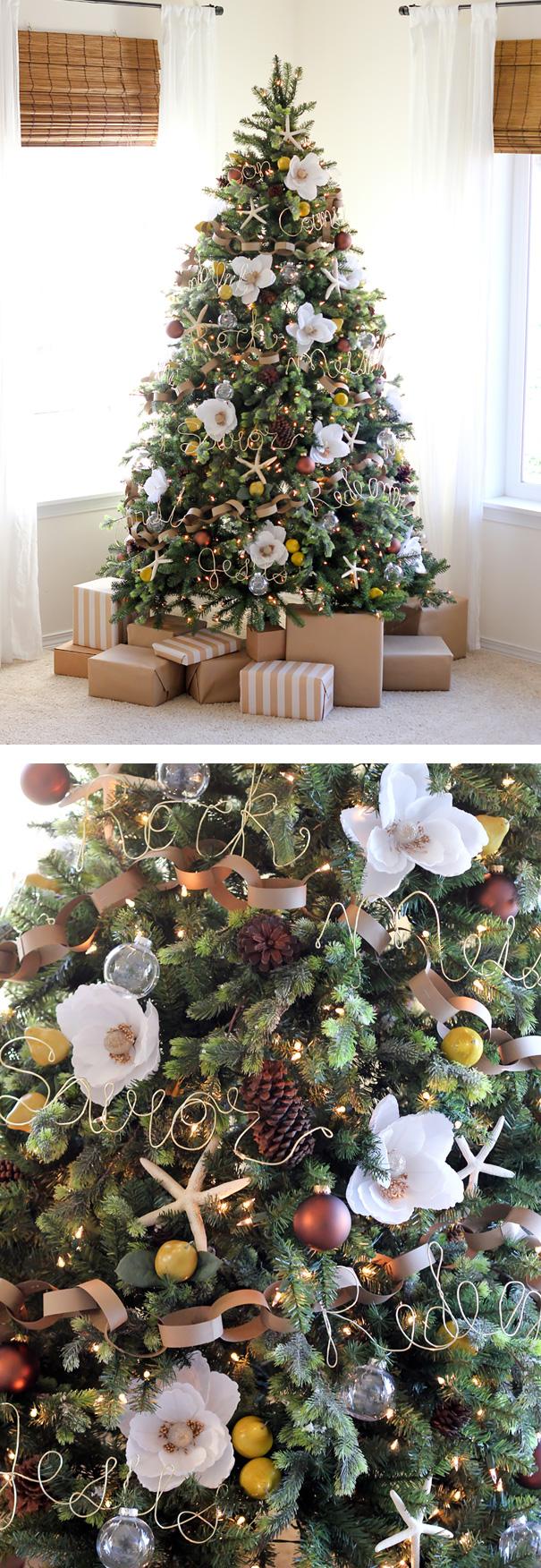ideas-decoracion-arbol-navidad-flores (9)