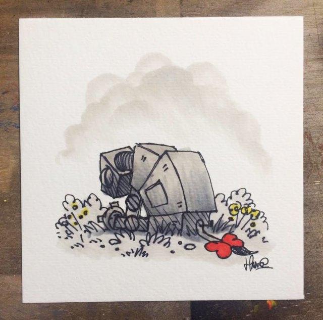 dibujos-mezcla-winnie-pooh-guerra-galaxias-james-hance (14)