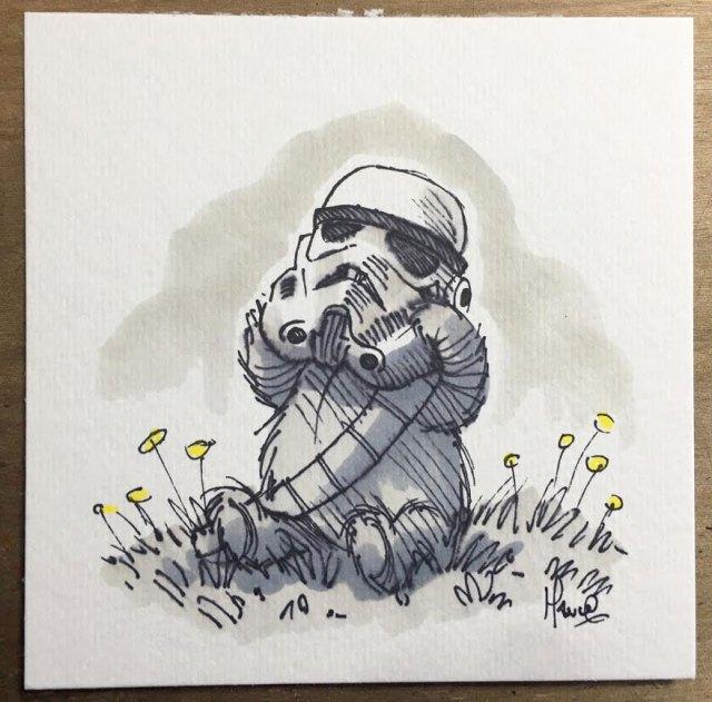 dibujos-mezcla-winnie-pooh-guerra-galaxias-james-hance (3)