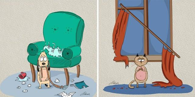 ilustraciones-diferencias-gatos-perros-bird-born (2)