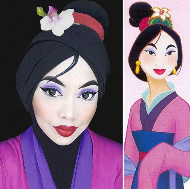 princesas-disney-maquillaje-hijab-saraswati (8)