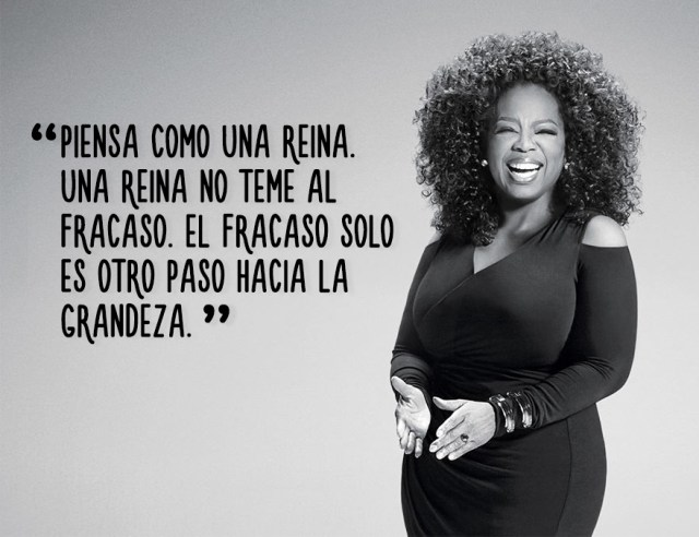 Resultado de imagen para Oprah Winfrey frases