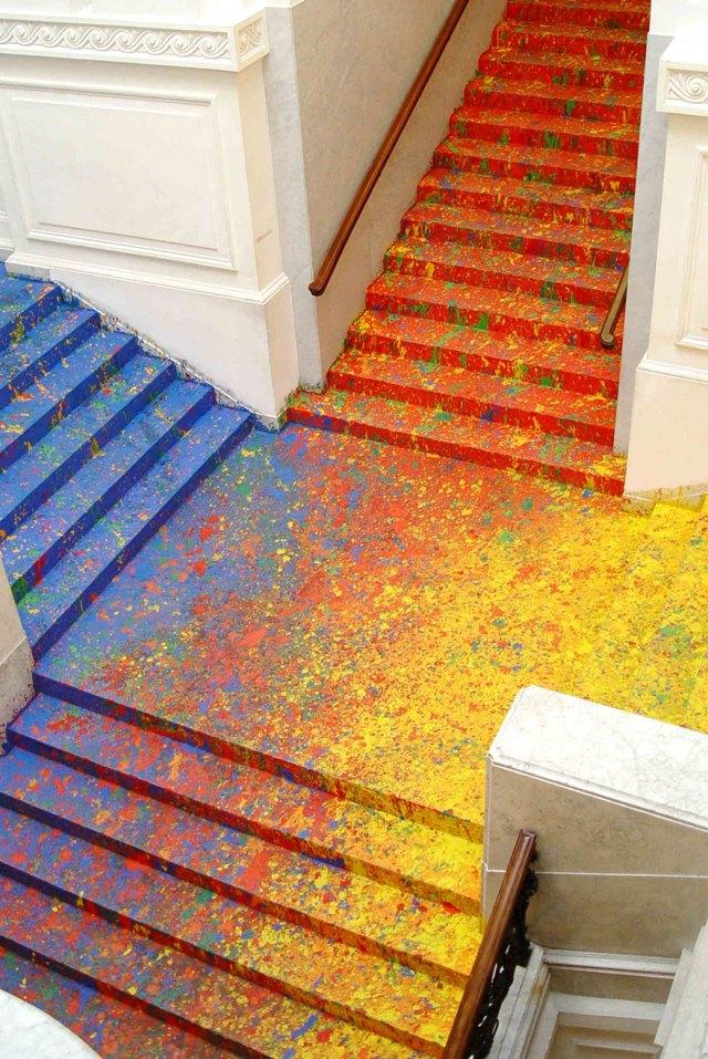 pintura-escalinata-galeria-zacheta-leon-tarasewicz-polonia (2)