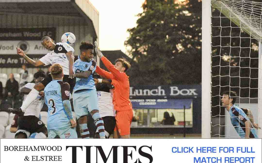 MATCH REPORT: BOREHAM WOOD VS GATESHEAD