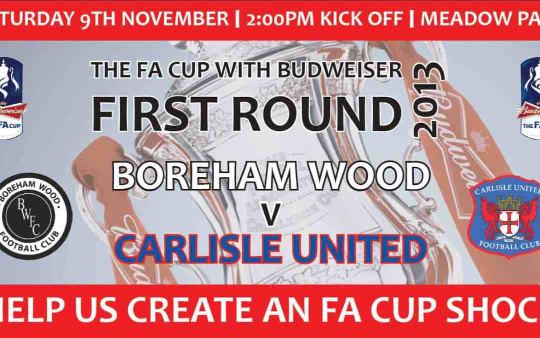 FA CUP DATE CONFIRMED