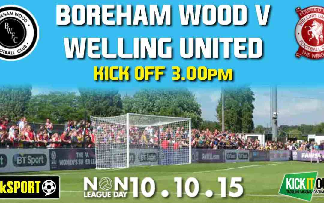WOOD WELCOME KICK IT OUT AND TALKSPORT ON NON LEAGUE DAY