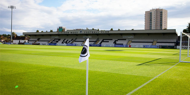 BOREHAM WOOD VS LEYTON ORIENT TICKETS TO BE SOLD IN ADVANCE