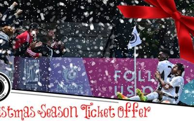 CHRISTMAS SPECIAL SEASON TICKET OFFER