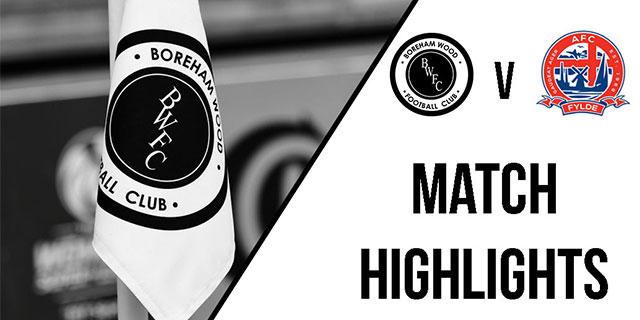 MATCH HIGHLIGHTS: AFC FYLDE
