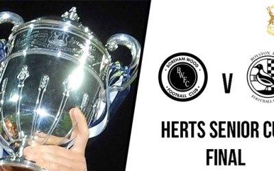 HERTS SENIOR CUP FINAL DATE CONFIRMED