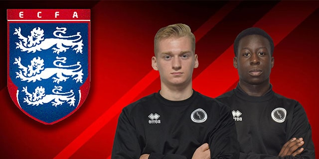 ENGLAND COLLEGES DUO RETURN FROM ROME