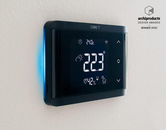домашн автоматизация CAME, смарт термостат за смарт дом