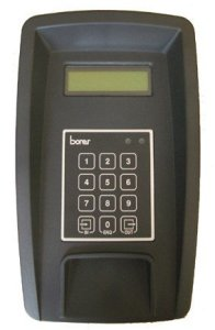 Borer locker message display terminal