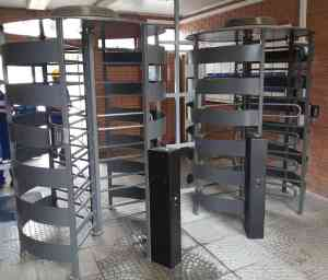 access control turnstiles port harbours